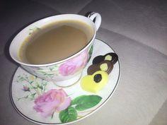 Coffee Rose Chocolate Heart ☕