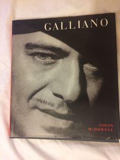 Galliano by Colin McDowell Hardcover) for sale online Fashion Books, Online Price, Movie Posters, Ebay, Film Posters, Billboard