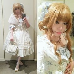 Gyaru Fashion, Kawaii Fashion, Lolita Fashion, Gyaru Hair, Brolita, Estilo Lolita, Cute Little Girls, Lolita Dress, Japanese Fashion