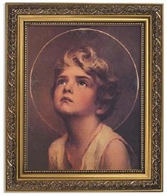 The Divine Child Christ Print By Artist CB Chambers