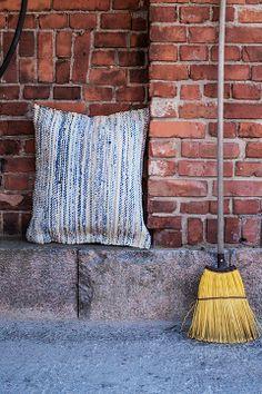 STIPLU.: Räsyä vaan ei ryysyä Home, Pillows, Throw Pillows, Bed
