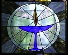 Image result for stained glass uu chalice
