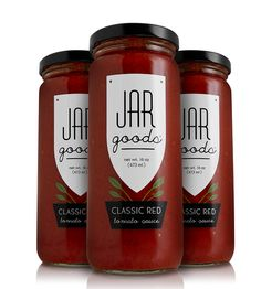 Classic Red Tomato Sauce – Pack of 3 by Jar Goods on Scoutmob Shoppe