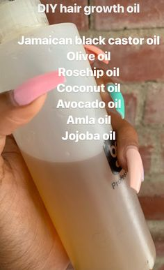 The Hippie Mom: DIY Growth Oil product for growth products products best products curly products for styling Grow Long Hair, Grow Hair, Natural Hair Care Tips, Natural Hair Styles, Natural Hair Growth Products, Healthy Hair Products, Good Hair Products, Natural Hair Recipes, Natural Hair Growth Remedies