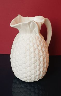 Minton Parian ware pineapple jug