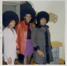 SISTERS SOUL | I LUV THE 70′S Unidentified African American woman, U.S.A, circa 1970s.