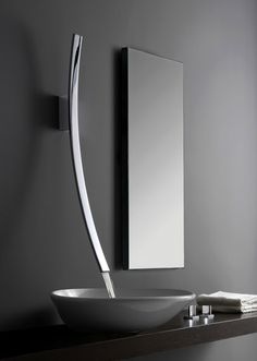 Luna Faucet via Meade Design * Patricia Gray | Interior Design Blog™