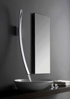 Luna Faucet via Meade Design * Patricia Gray | Interior Design Blog™