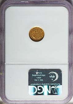 Gold Dollars, 1849-C G$1 Open Wreath MS63 Prooflike NGC. Variety One. Image #2
