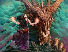 I've gotta dragon. What have you got? by *dendorrity on deviantART