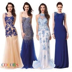 Royal Flush! COLORS DRESS #prom #prom2015 #gown #fashion