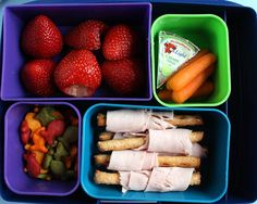 Cool Bento lunch for the kids and me...