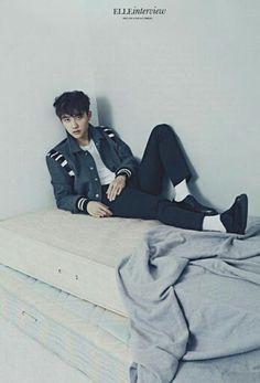 """ Kyungsoo for Elle Magazine "" Luhan And Kris, Kris Wu, Baekhyun Chanyeol, Exo Ot12, Kaisoo, Kpop Exo, Shinee, K Pop, Two Worlds"