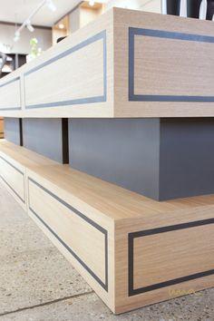#designideas #interiordesignideas #storeideas #storepresentation #productprenentation #storeinterior Interior Design Studio, Store Design, Presentation, Shelves, Running, Storage, Furniture, Home Decor, Projects
