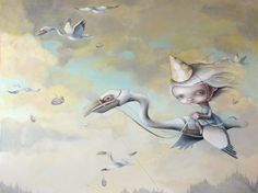 'Resignedly beneath the sky' by Anne Angelshaug