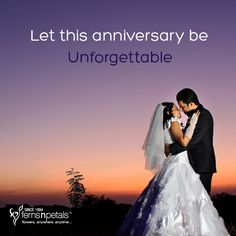 It's the day you took the vows... it is bound to be unforgettable. http://www.fnp.ae/ #fernsnpetalsUAE #anniversary #marriage #union #together #unforgettable
