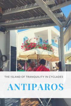 Antiparos the island of tranquility in Cyclades, that are sometimes forgotten in the light of Paros. That is why we loved it; me and my sister. We arrived in Paros and went straight on the ferry to Antiparos for 5 EUR. After 20 minutes in a delightful boat ride surrounded with fresh saltwater air, we arrived to the port of Antiparos. We stepped out and start walking in the main street and our pulse slowed down. This is the island we need.