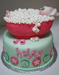 Sleepover Spa CakeThis Would Be Perfect For Hannahs Birthday - Spa birthday party cake