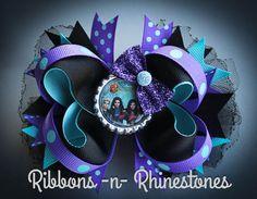 Descendants Hair Bow Descendants Boutique by RnRshairbowsandmore