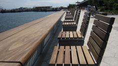 East River Waterfront Esplanade Benches