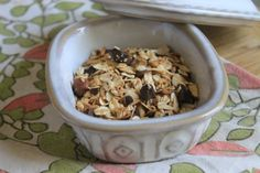 Dark Chocolate Coconut Granola