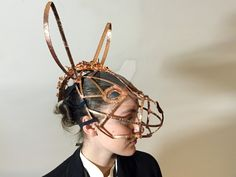 Donkey Mask For SteamPunk Midsummer Night's Dream by domosmoustache.deviantart.com on @DeviantArt