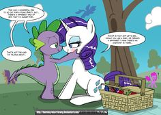 [MLP] Sparity Picnic Lubbins by Burning-Heart-Brony on DeviantArt Rarity And Spike, Mlp Spike, My Little Pony Cartoon, My Little Pony Pictures, Nick And Judy Comic, Mlp Pony, Pony Pony, My Little Pony Wallpaper, Black Widow Marvel