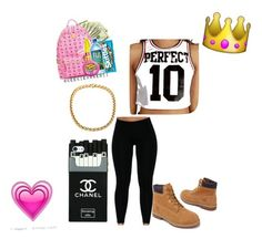 """Untitled #1"" by janiejenita ❤ liked on Polyvore featuring beauty and Timberland"