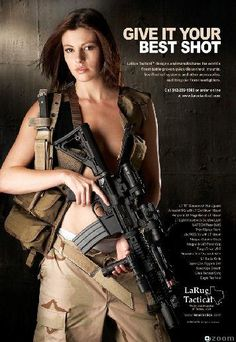 Larue tactical naked poster