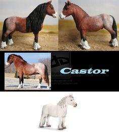 Cust Schleich Fell pony stallion by Schleichgirl1976.deviantart.com on @DeviantArt