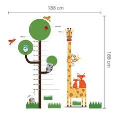 Hoogtemeter boom giraffe, 25 Euro