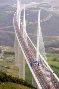 millau viaduct - Southern France