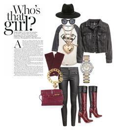 """""""I AM JMADDD STYLES..."""" by johncm on Polyvore featuring Forever 21, H&M, Tory Burch, Henri Bendel and Juicy Couture"""