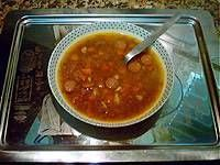 Sopa de lentejas al Curry. Clic en la imagen para ver la receta.
