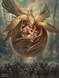 LotC: Restoring Seraphim Angel in the Shell xD Legend of the Cryptids Inspired by Gaylord Ho and Jama Jurabaev. Fantasy Kunst, Dark Fantasy Art, Fantasy Artwork, Dark Art, Fantasy Art Angels, Fantasy Character Design, Character Art, Bild Tattoos, Angels And Demons
