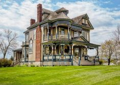 Victorian home located in Osceola, Iowa  Built in 1897 by architect George Barber.