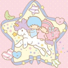 Sanrio: Little Twin Stars:) Sanrio Wallpaper, Kawaii Wallpaper, Wallpaper S, Little Twin Stars, Little Star, Sanrio Characters, Cute Characters, Kawaii Art, Kawaii Anime