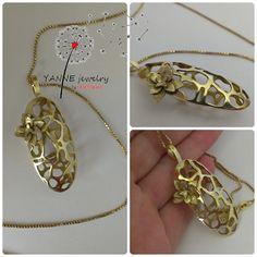 Yanne Jewelry Work- Katalin Rakoczy, botanic pendant- all rights reserved