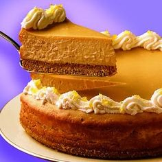 Butterscotch Cheesecake - Recipes, Dinner Ideas, Healthy Recipes & Food Guide