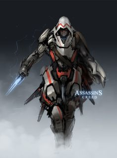 Assassin's Creed : Future Warfare by *ProgV on deviantART  Char Design- alternative versions of existing characters