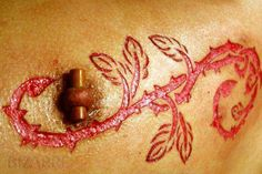 Are Human Branding and Scarification The New Tattoo? #tattoos
