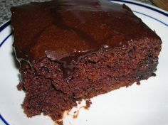 All Things Edible: Schmecks really does mean good! Hurry up chocolate cake Chocolate Desserts, Chocolate Cake, Take The Cake, Taste Buds, Sweets, Recipes, Puddings, Sweet Stuff, Sink