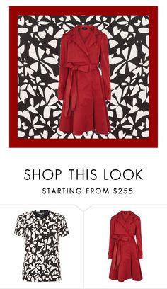 """""""Red and black"""" by missloveschic ❤ liked on Polyvore featuring Paule Ka, men's fashion and menswear"""