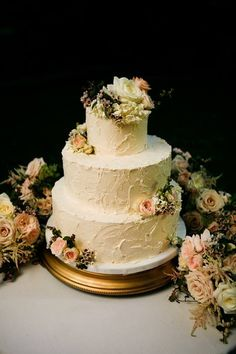 Flower for the Wedding Cake - Weddings by Monday Morning Flowers Rustic Flowers, Morning Flowers, Monday Morning, Wedding Cakes, Weddings, Desserts, Ideas, Food, Wedding Gown Cakes