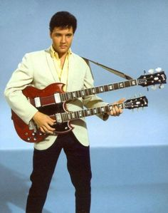Elvis with Double Bass in a promotional shot for Spinout - 1966 Photo courtesy FECC/Desert Storm