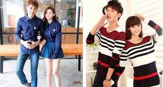 Resultado de imagen para ropa de pareja coreana