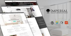 Imperial - Interior WordPress Theme by ithemeslab Imperial is a interior business WordPress theme. Highly recommended for small andbig firms providing interior / Architecture servi