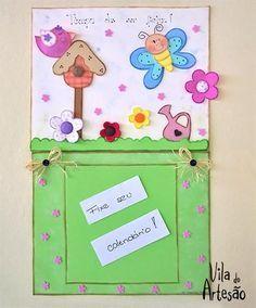 Como fazer um suporte porta calendário usando EVA.  #craft #diy #artesanato