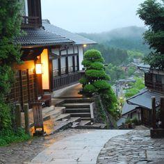 Medieval Japan town
