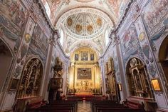 Originally built for elderly clergy, the Hospital de los Venerables now houses some of Seville's finest art. Seville Spain, Spain And Portugal, Spain Travel, 17th Century, Barcelona Cathedral, Europe, Fine Art, Explore, City